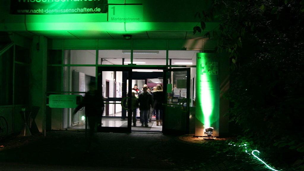 Lange Nacht der Wissenschaften Eingang
