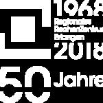 50 Jahre RRZE Jubiläumslogo – transparent