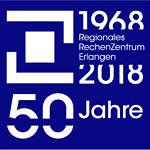 50 Jahre RRZE Jubiläumslogo