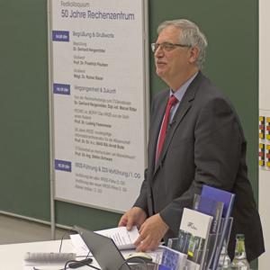 Ministerialdirigent Dr. Rainer Bauer, Bayerisches Staatsministerium der Finanzen und für Heimat