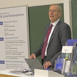 Prof. Dr. Dr. Arndt Bode, Leibniz-Rechenzentrum (LRZ)